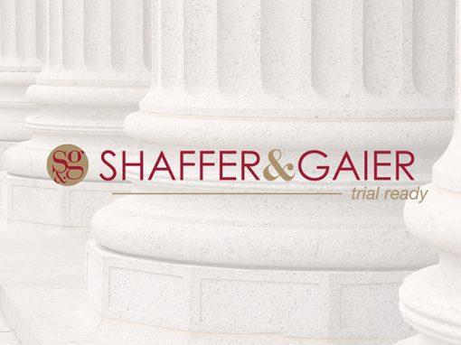 SHAFFER & GAIER